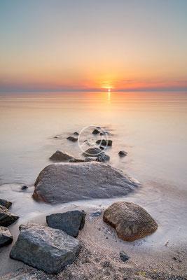 Sonnenaufgang bei Lübeck | Ostsee
