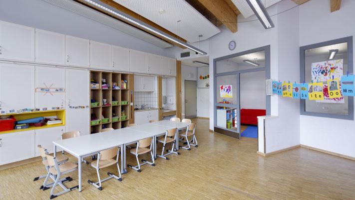 Optimale Klassenzimmer mit Ruheräumen
