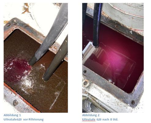 Vorher-/Nachher Vergleich Petrofer Ultra Safe 620
