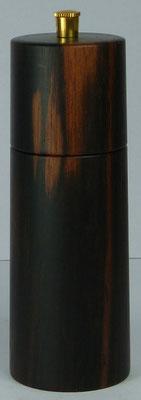 Pfeffermühle Makasar Ebenholz ca. 14,5 cm