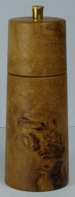 Pfeffermühle Eiche Maser ca. 14,5 cm