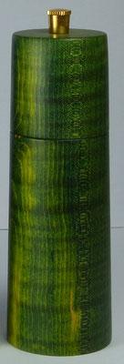 Salzmühle Riegelahorn, grün stabilisiert ca. 14,5 cm