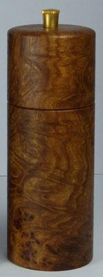 Salzmühle Ulme Maser ca. 14,5 cm - siehe auch Set