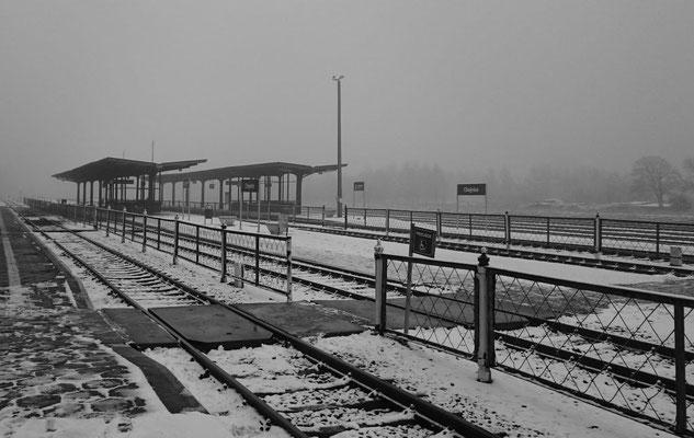 Bahnhof Chojnice (Konitz), südöstlicher Teil