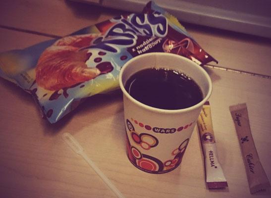 der Morgen danach: Kaffee
