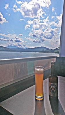 Bier auf dem Schiff