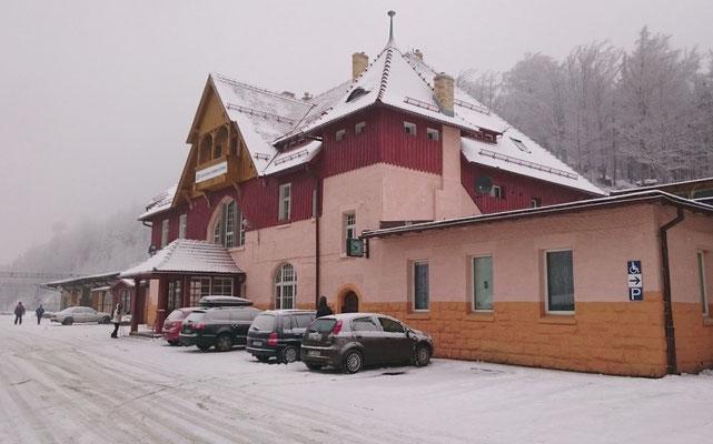 Empfangsgebäude von Oberschreiberhau