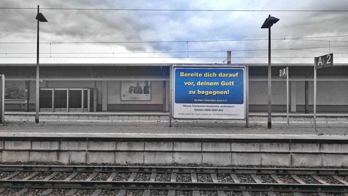 Plakat in Baden-Baden