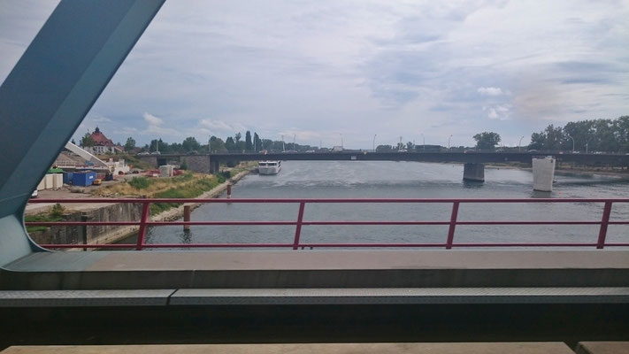 Rheinbrücke bei Kehl