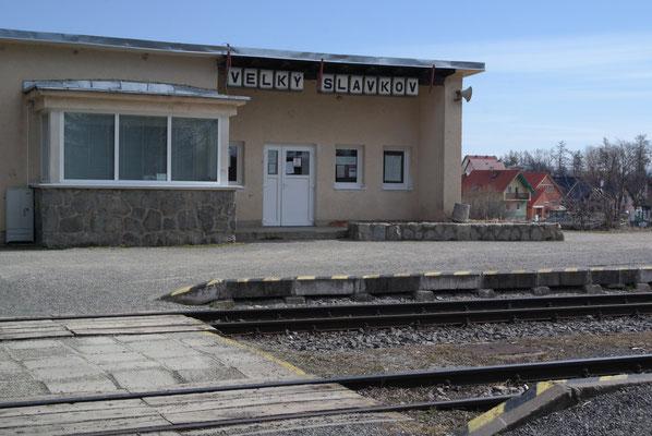 Bahnhof Velky Slavkov