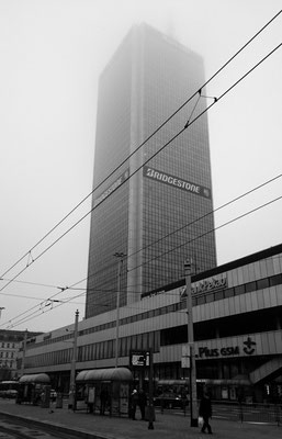 Wolkenkratzer, heute wörtlich zu nehmen