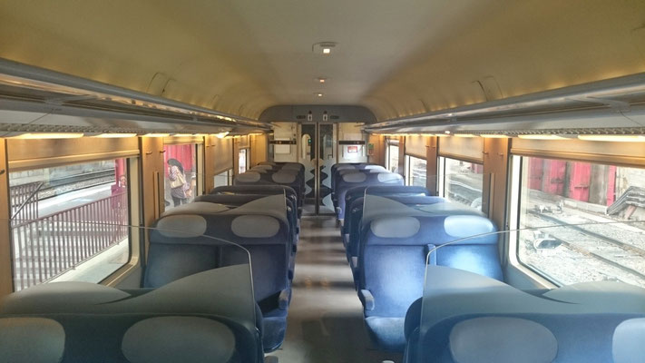 im Zug Strassburg-Nancy