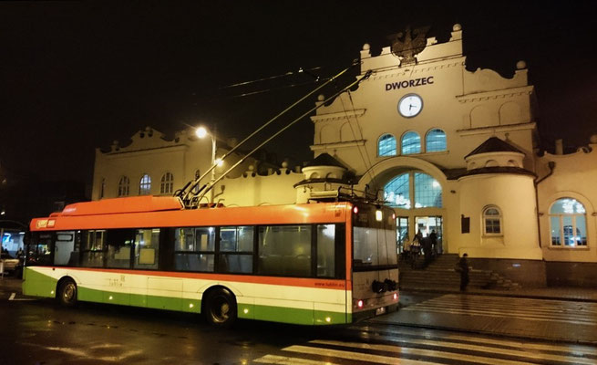 Lublin: immerhin O-Busse
