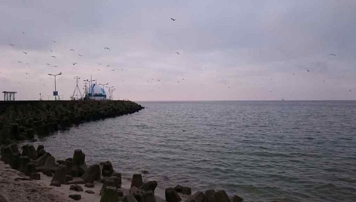 am Hafen von Hela