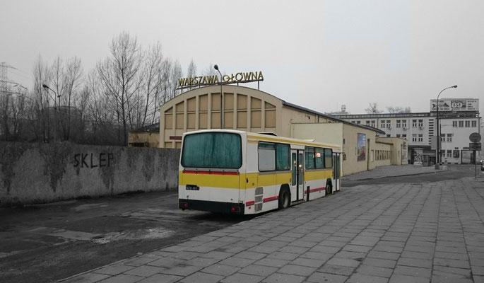 dieser Bus bringt keine Fahrgäste mehr