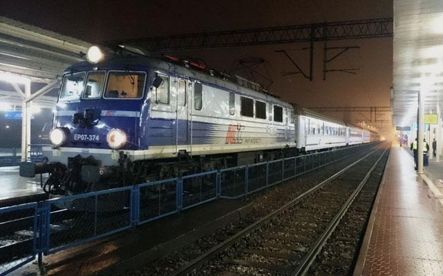 Nachtzug Warschau-Kiew