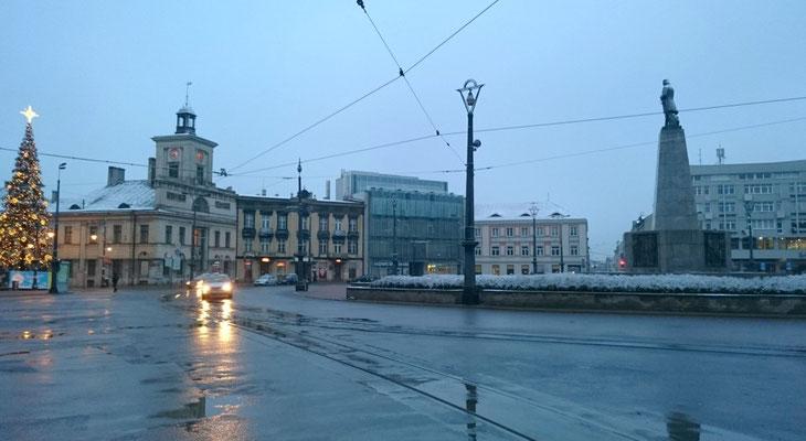 Lodz, Plac Wolnosci