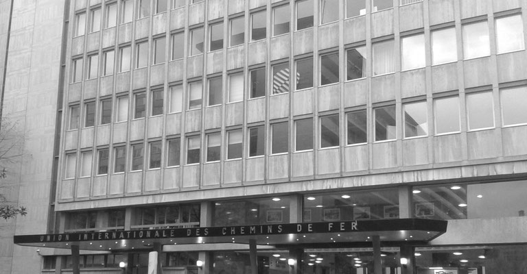 Hauptquartier der europäischen Eisenbahnunion
