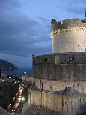 am Abend in Dubrovnik