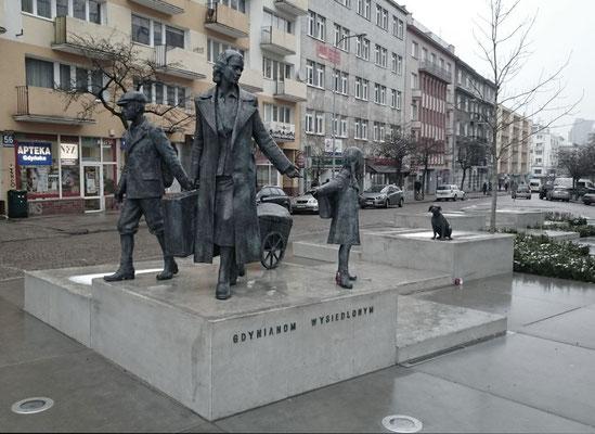 Denkmal der aus Gdingen Vertriebenen