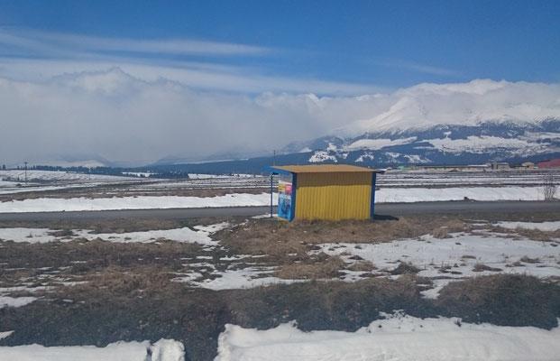 Tatra, vom Zug aus