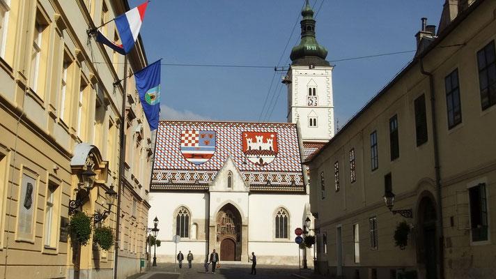 Oberstadt Zagreb, Regierungsviertel