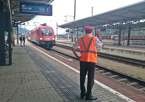 "EC ""Transalpin"" in Wörgl"