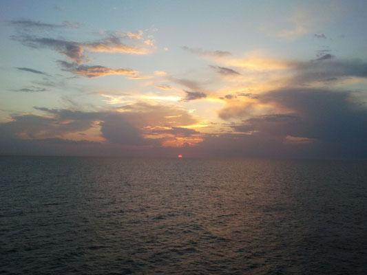 auf dem Schiff