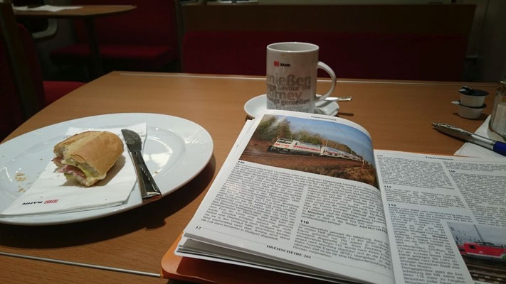 Frühstück im Bistro