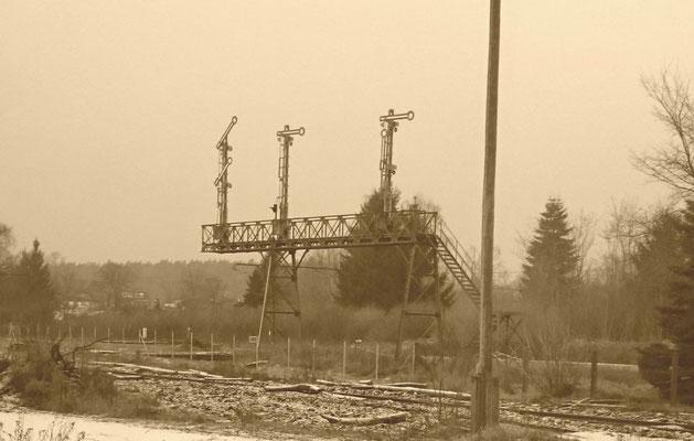 ehem. Signalbrücke in Müncheberg