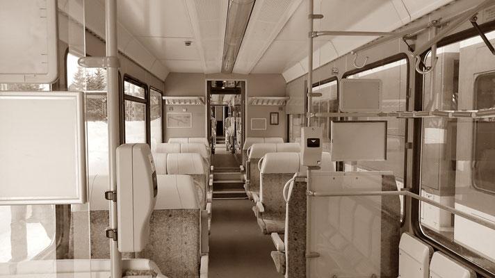 Tatrabahn, innen