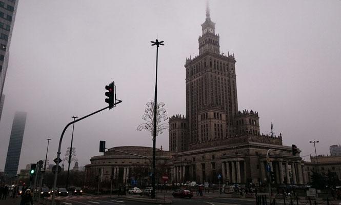 Kultur- und Wissenschaftspalast, Warschau