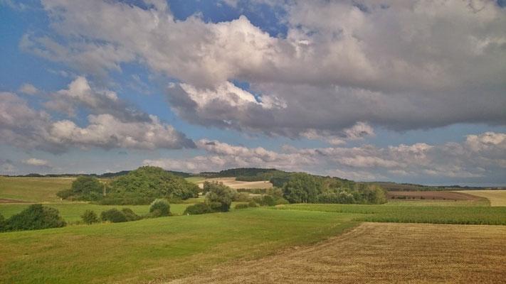 Landschaft der Vogesen