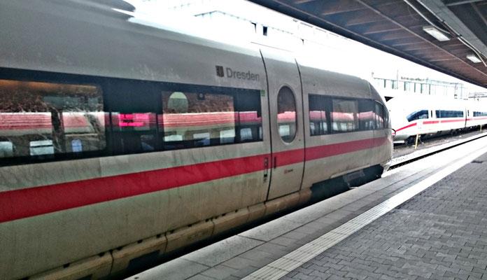 """ICE """"Dresden"""" in München"""