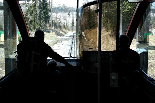 Fahrt zum Hrebienok