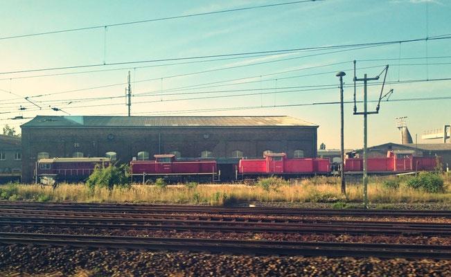 Dieselloks in Eisenach