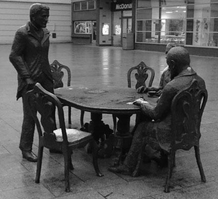 berühmte Autoren und Regisseure aus Lodz (nicht echt)