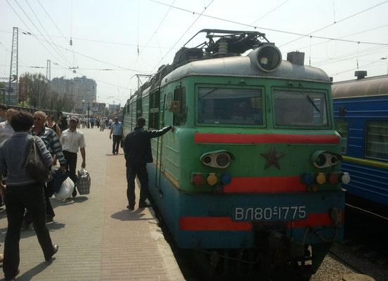 Ankunft in Odessa