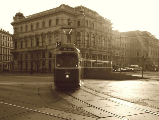 Straßenbahn in Wien