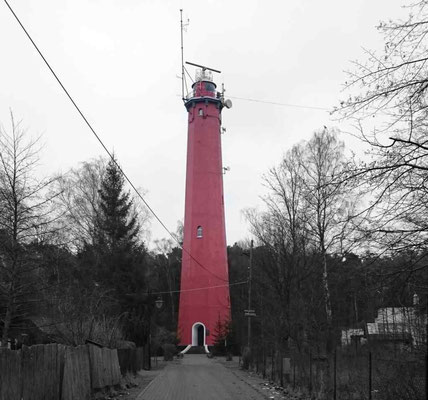 Der Leuchtturm von Hela