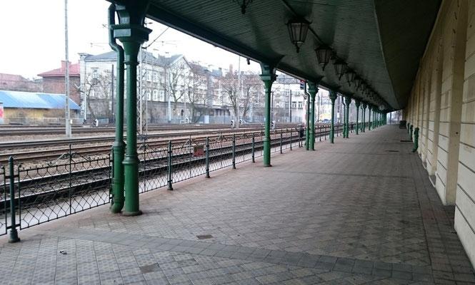 ehemaliger Bahnsteig