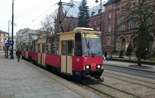 Straßenbahn in Bromberg