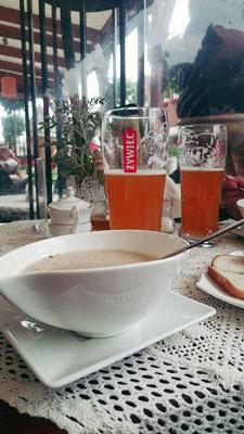 Zurek mit Bier