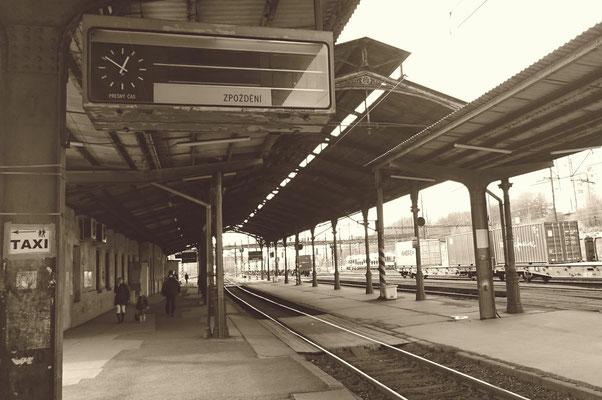 Bahnsteigüberdachung Karlsbad