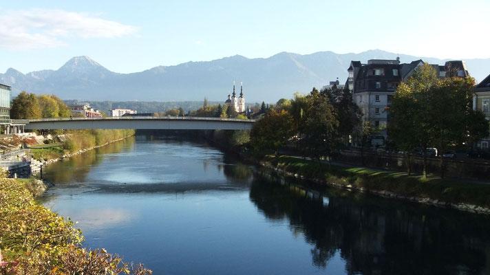 Villach: hübsches Dorf im Süden