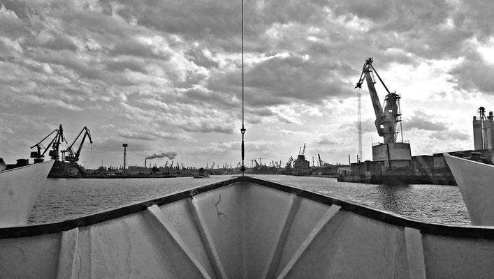 Schifffsfahrt Hel-Gdansk