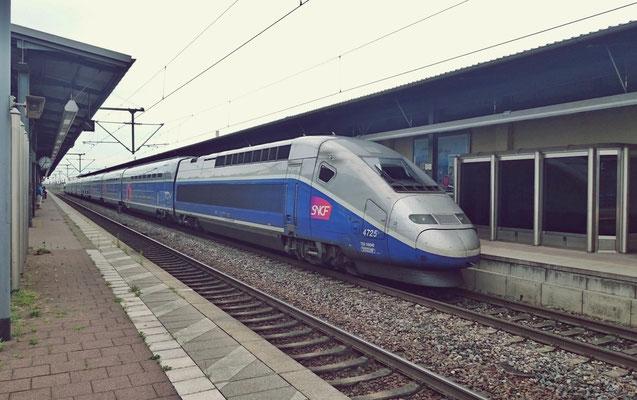 TGV in Baden-Baden