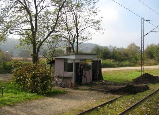 Grenzbahnhof, bosnische Seite