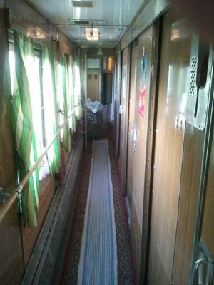 Zug von Chmelnik  nach Odessa