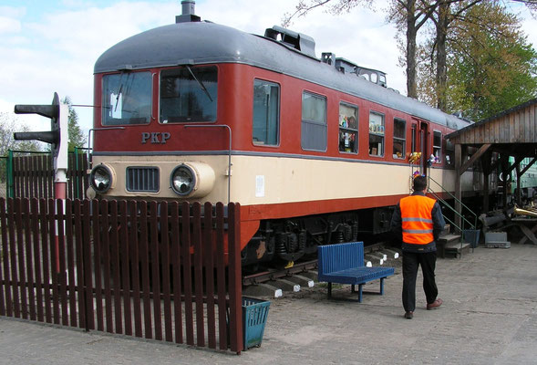 Eisenbahnmuseum in Berent